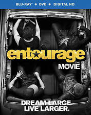 Entourage Dream Large Live Larger Movie Blu-Ray Digital DVD + Cover Case EUC