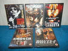 5 x GANGSTA / THRILLER SET OF DVD'S - SNUFFED OUT, SMOOTH... - NEW & SEALED