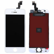 For iPhone 5S Replacement LCD Digitizer Front Screen Assembly Panel White