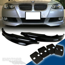 Pre Facelift PAINTED BMW E92 3-Series Coupe E93 OE Front Splitter Lip Bumper
