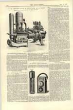 1892 bomberos para buque de luz eléctrica para ómnibus turco