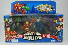 Superhero Squad THE SECRET INVASION BEGINS (Ironman, Mr Fantastic, Dr.Strange)