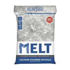 Snow Joe Llc Melt 50-LB Calcium Chloride Crystals Ice Melter - Resealable Bag