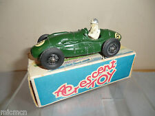 "VINTAGE CRESCENT TOYS  MODEL No.1287   ""CONNAUGHT 2 LITRE ""  GP CAR    VN  MIB"