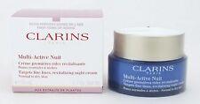 Clarins Multi-Active Night Revitalizing Cream Normal/Dry50ml/1.7ozNIB(sku:17337)