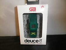 RARE Deuce GB Sports Watch ALARM/5 ATM O2 RESIS/STOP WATCH/IMPACT ASBORB/LCD NEW