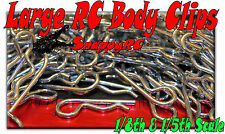 50 LARGE RC Body Clips 1/5th & 1/8th Scale Pins   HPI Baja Losi 5ive Ofna Jammin