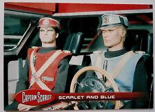 Captain SCARLET-singoli Trading Card #5, Scarlet & Blu-inarrestabile 2015