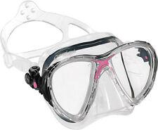 Big Eyes Evo von Cressi Tauchmaske pink Taucherbrille mit schmalem Rahmen