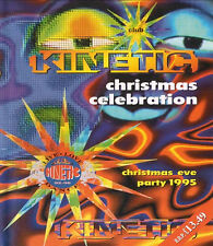 CLUB KINETIC - CHRISTMAS CELEBRATION 1995 (CD COLLECTION) 22ND DECEMBER 1995