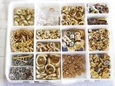 285 JEWELRY MANUFACTURE ESPOSITO GOLD PLATED PARTS VINTAGE FINDINGS LOT*A270