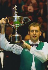 Mark Williams SIGNED Snooker Champion 12x8 Photo AFTAL Crucible Sheffield