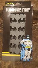 DC Comics Batman Silicone Ice Cube Tray Grey Brand New
