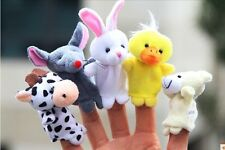 Aambi Creations 5 pcs Finger Puppet Animal Baby Education Play Toy