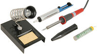 SOLDERING IRON SET SOLDER KIT SOLDER IRON STAND SOLDER DESOLDER PUMP WARRANTY