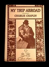 Charlie Chaplin MY TRIP ABROAD 1922 FINE in RARE DUST JACKET Scarce 1ST Edition