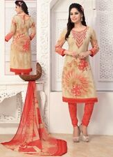 Elegant Crepe Designer Printed Unstitched Dress Material Suit D.No SFD11011