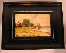 Altes Ölgemälde aus Nachlass Landschaft um 1910