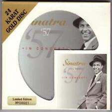 Sinatra '57 In Concert 24 Karat Gold Disc CD+slipcover Limited Edition no. 06250