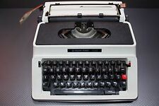 Vintage Silver Reed 500 Typewriter With the Case.