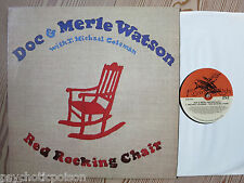 DOC WATSON & MERLE WATSON - Red Rocking Chair LP Flying Fish  FF 252  1. edition