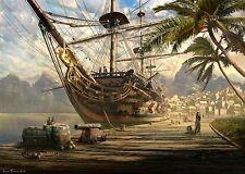 Barco En Ancla Schmidt Rompecabezas 1000 Piezas De Barco De Vela 58183