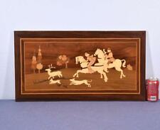 *Inlaid Marquetry Panel with Hunting Scene 3