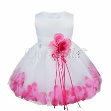 Flower Girl Princess Wedding Party Pageant Vintage Dresses Baby Tutu Fancy Dress