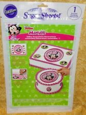 Minnie Mouse,Sugar Sheet,Edible Decorating Paper Set,Wilton,710-6362,Disney,