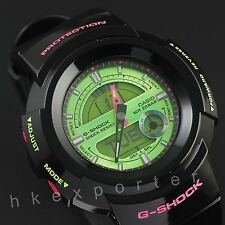Brand New Casio G-Shock Analog Digital Watch AW-582SC-1A black