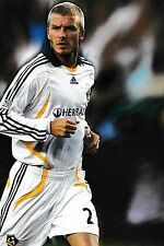 Football Photo DAVID BECKHAM LA Galaxy 2007-08