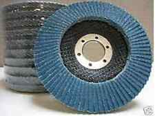 "10-PC 4-1/2""x7/8  Flap Disc Grinding Wheel 60 Grit New"