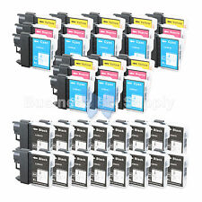 40+ PK LC61 Ink for Brother MFC-J630W MFC-J615W MFC-J415W MFC-J410W MFC-J270W