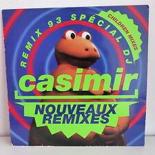 """MAXI 12"""" CASIMIR Nouveaux remixes 93 Special DJ VER 659534 8 TV TELE"""