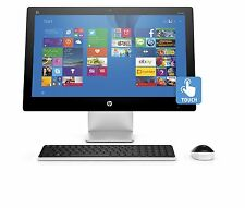 "HP Pavilion 22 Touchscreen All In One 21.5"" Touch FHD A6 4GB 1TB DVDRW WiFi W10"