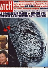 paris match - 1381 - novembre 1975 - le professeur mathé -