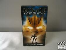 Bionicle: Mask of Light (VHS, 2003) Animated; Very Good