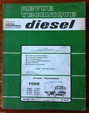 b)RTA Diesel du 11/1979; FORD Chassis D 0610-D0910-D0911-1010-1111-1211-1311