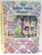 Cookbook Bulloch House Warm Springs Georgia Hard Cover Spiral Binder
