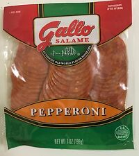 2 Bags - 7oz Gallo Pepperoni Sliced Gluten Free