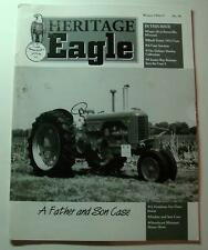 HERITAGE EAGLE MAGAZINE WINTER/1996/97..A FATHER AND SON CASE..A CASE AUCTION