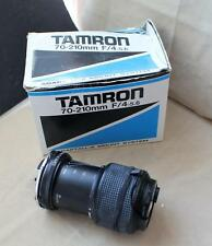 Tamron 70-210mm f/4-5.6 Telephoto zoom lens 58A w/ Adaptall 2 Mount System w/box