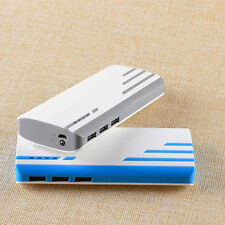 External 50000mAh Power Bank 3 USB Port Battery Charger Pack For iPhone iPad