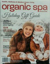 Organic Spa Magazine Dec 16 Holiday Gift Guide Health Wellness​ FREE SHIPPING sb