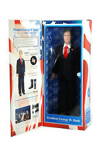"""PRESIDENT GEORGE W. BUSH 12"""" TALKING ACTION FIGURE TOYPRESIDENTS NEW IN THE BOX"""