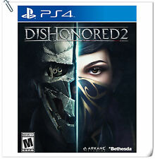 PS4 Dishonored 2 SONY PLAYSTATION Bethesda Action Game
