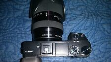 Sony Alpha a6000 24.3MP Digital Camera - Black - Bundle