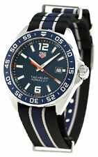 TAG Heuer Formula 1 Sunray Dial Blue Men's Watch WAZ1010.FC8197 New