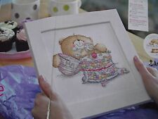 DELICIOUS INDULGENCE FOREVER FRIENDS TEDDY BEAR ICING CAKE CROSS STITCH CHART