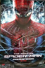 THE AMAZING SPIDER-MAN 2012 1 SHEET POSTER MARVEL ANDREW GARFIELD EMMA STONE
